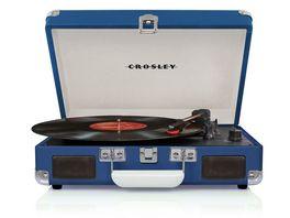 CROSLEY Cruiser Deluxe Plattenspieler blau