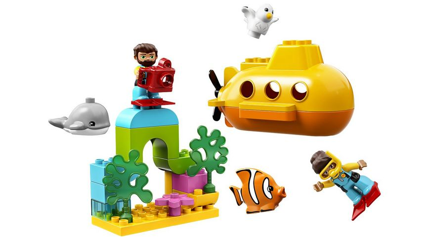 LEGO DUPLO 10910 U Boot Abenteuer