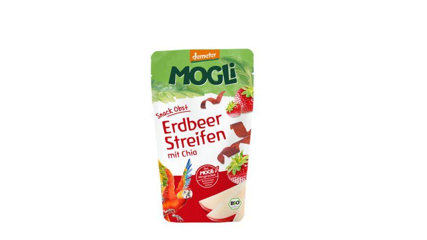MOGLi Demeter Erdbeer Streifen mit Chia