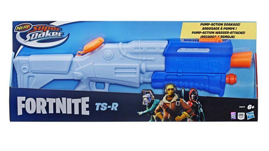 Hasbro Super Soaker Fortnite TS R Pump Action Wasser Attacke