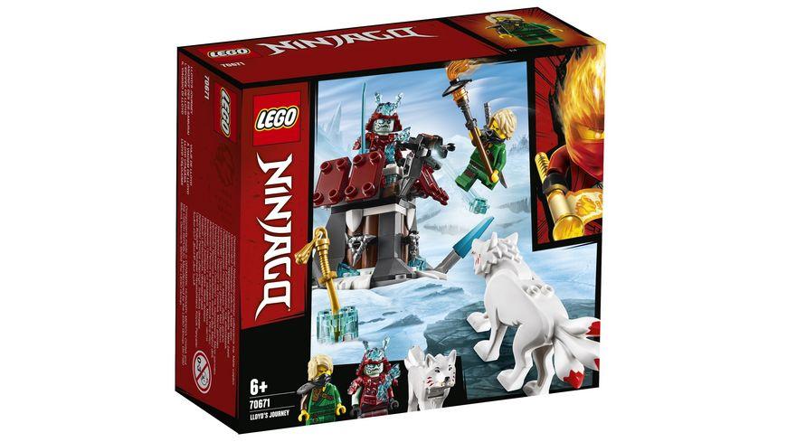 LEGO Ninjago 70671 Angriff des Eis Samurai