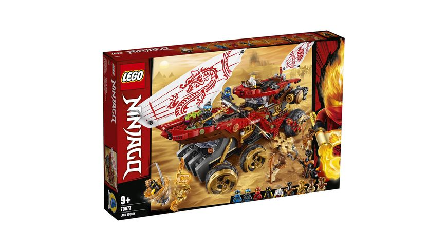 LEGO Ninjago 70677 Wuestensegler