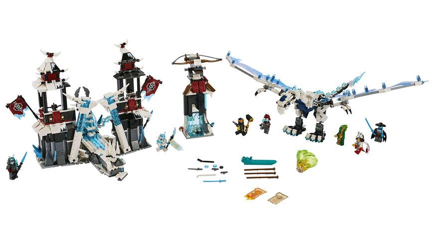 Lego Ninjago 70678 Festung im ewigen Eis