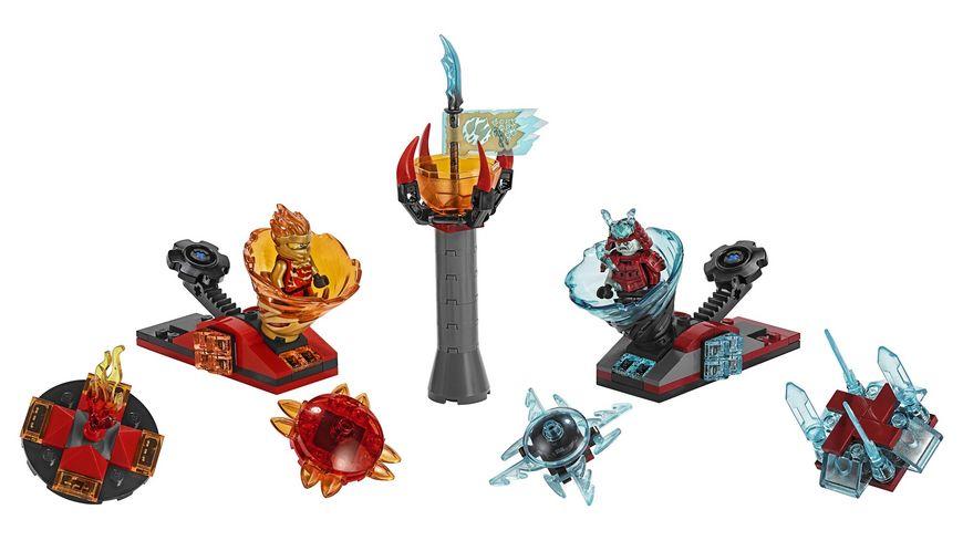 Lego Ninjago 70684 Spinjitzu Slam Kai vs Eis Samurai