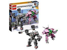 LEGO Overwatch 75973 D Va Reinhardt