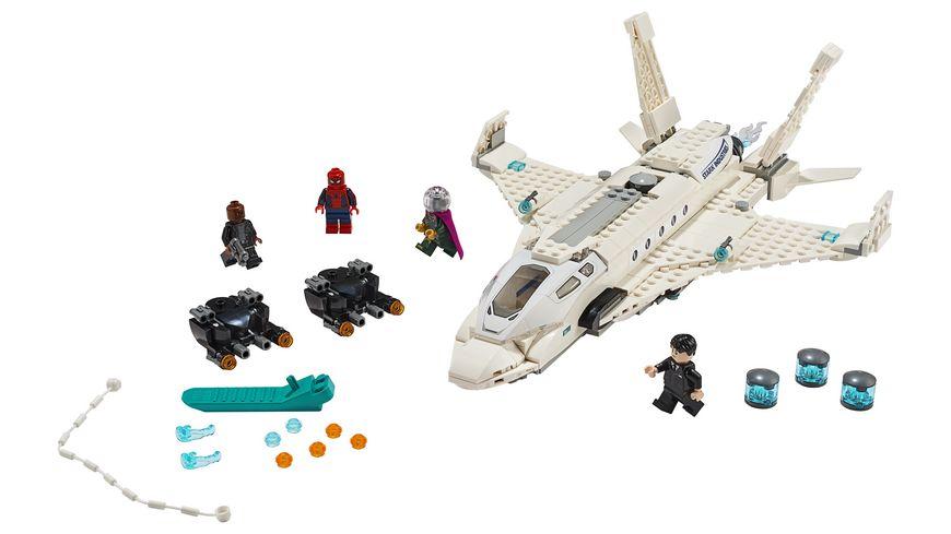 LEGO DC Comics Super Heroes 76130 Starks Jet und der Drohnenangriff