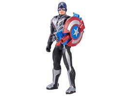 Hasbro Avengers Titan Hero Captain America mit Power FX Pack