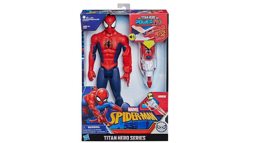 Hasbro Spider Man Titan Hero mit Quantum Power Pack