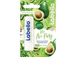 LABELLO LET S AVOCADO PARTY 5 5ML LIMITED EDITION