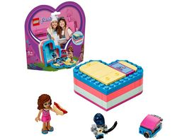 LEGO Friends 41387 Olivias sommerliche Herzbox
