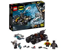 LEGO DC Comics Super Heroes 76118 Batcycle Duell mit Mr Freeze