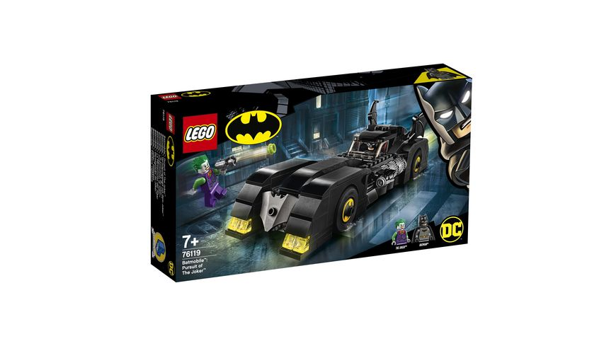 LEGO DC Comics Super Heroes 76119 Batmobile Verfolgungsjagd mit dem Joker
