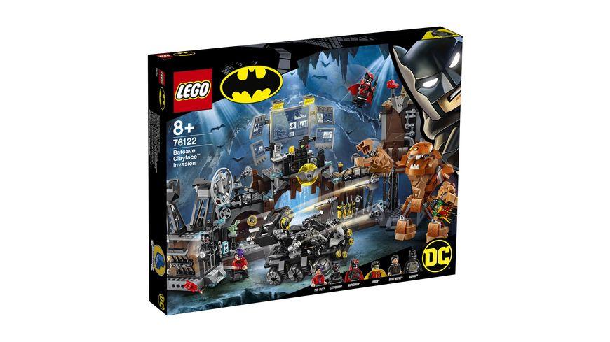 LEGO DC Comics Super Heroes 76122 Clayface Invasion in die Bathoehle