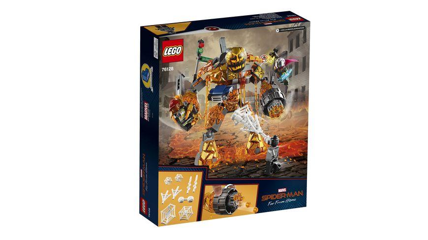 LEGO DC Comics Super Heroes 76128 Duell mit Molten Man