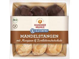 HAMMERMUeHLE Bio Mandelstangen mit Marzipan Zartbitterschokolade glutenfrei
