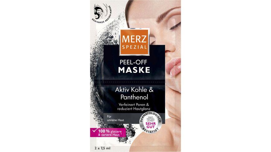 Merz Spezial Peel-Off Maske 2x7,5 ml