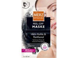 Merz Spezial Peel Off Aktiv Kohle Maske