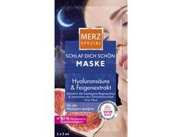Merz Spezial Schlaf dich schoen Maske 2x5 ml