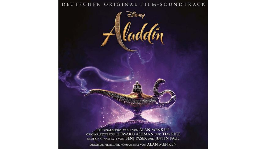 Aladdin Deutscher Original Film Soundtrack