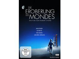 Die Eroberung des Mondes 3 DVDs