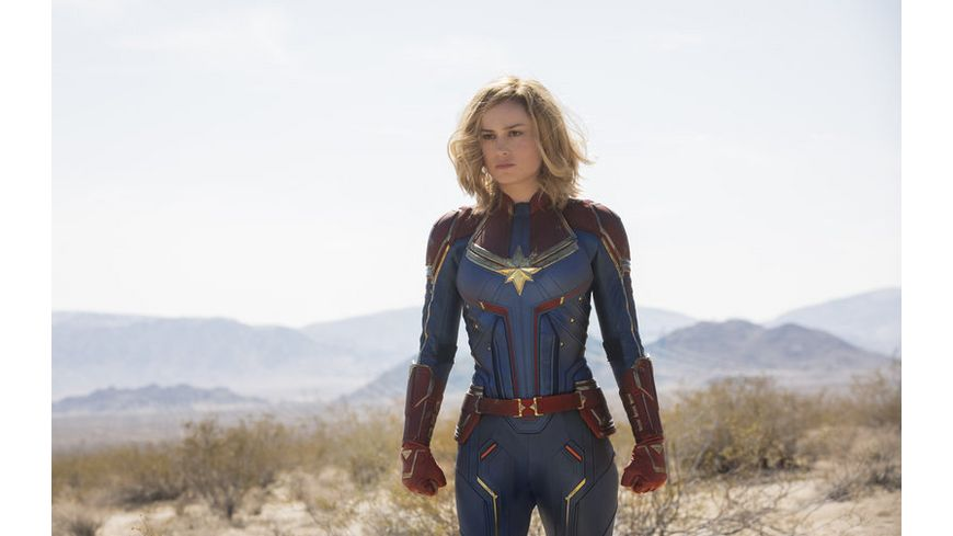 Captain Marvel 4K Ultra HD Blu ray 2D