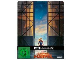 Captain Marvel 4K Ultra HD Blu ray 2D