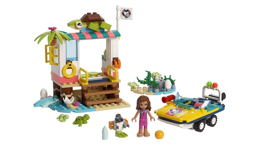 LEGO Friends 41376 Schildkroeten Rettungsstation