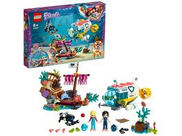 LEGO Friends 41378 Rettungs U Boot fuer Delfine