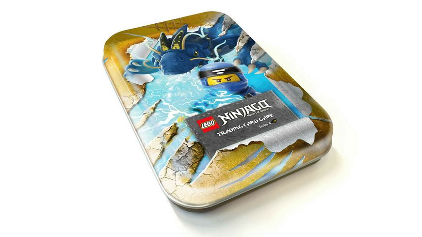 Blue Ocean LEGO Ninjago Serie 4 Mini Tin 3 Gelb