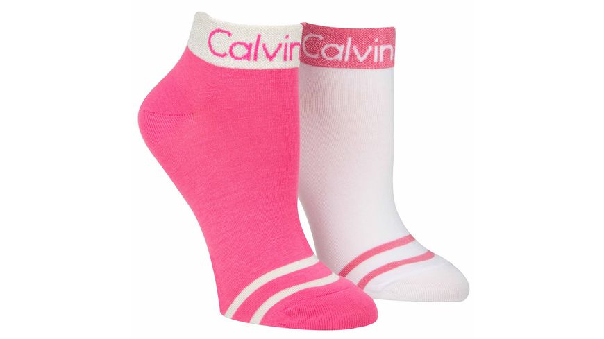 Calvin Klein trendige Damen Sneakersocken 2er Pack