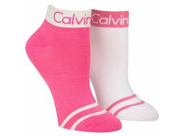 Calvin Klein Damen Sneaker Socken 2er Pack trendig