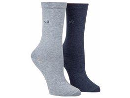 Calvin Klein Damen Socken klassisch 2er Pack