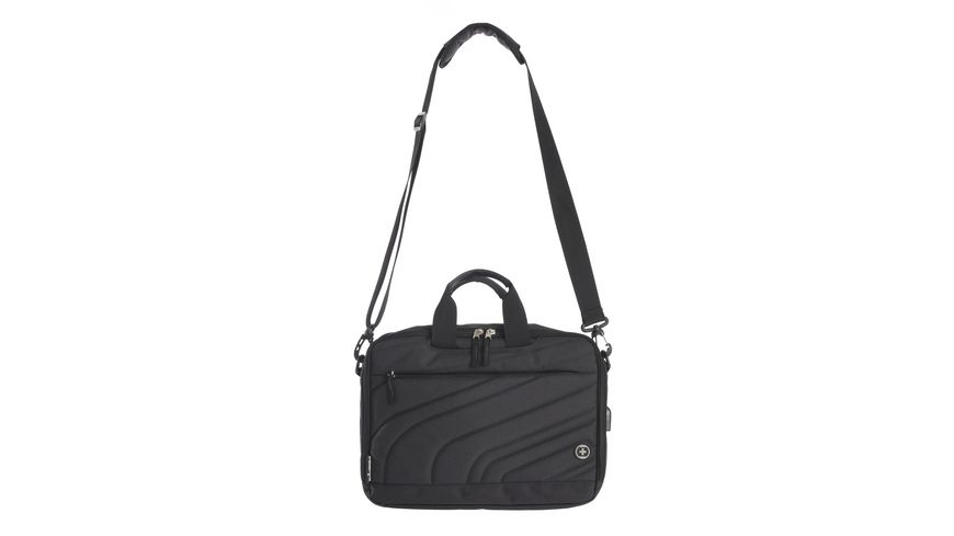 SWISSDIGITAL BUSINESS BAG schwarz