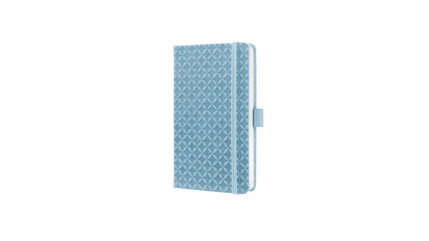 sigel Jolie Notizbuch liniert Sky Blue 95 x 15 x 16mm