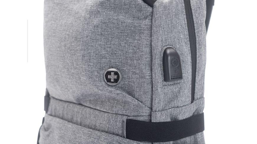 SWISSDIGITAL Freizeit Rucksack COMPANION grau