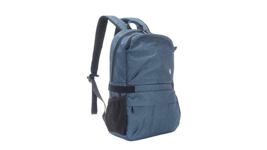 SWISSDIGITAL Freizeit Rucksack COMPANION dunkelblau