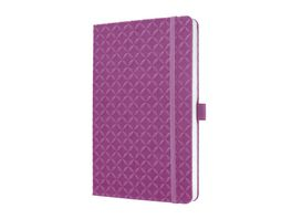 sigel Jolie Notizbuch liniert Pink Purple 135 x 203 x 16mm