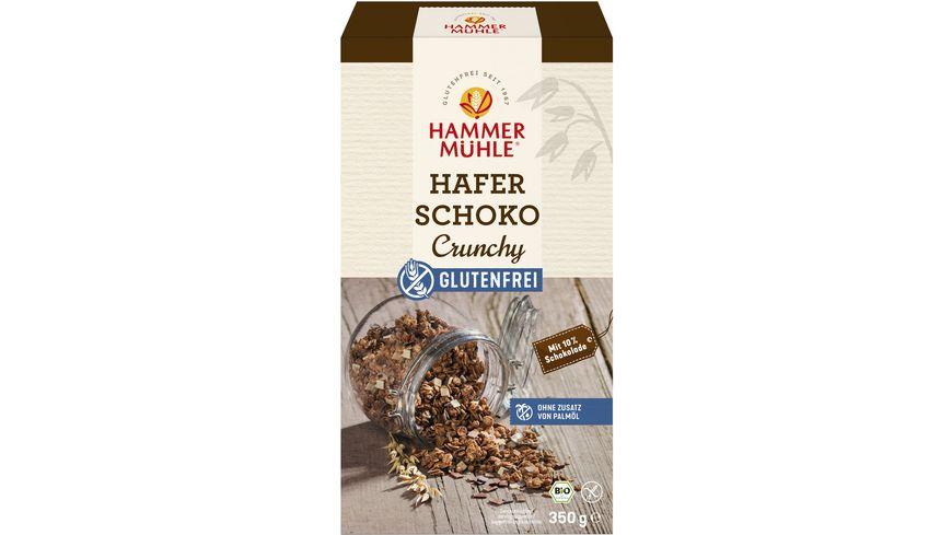 HAMMERMUeHLE Bio Hafer Schoko Crunchy glutenfrei