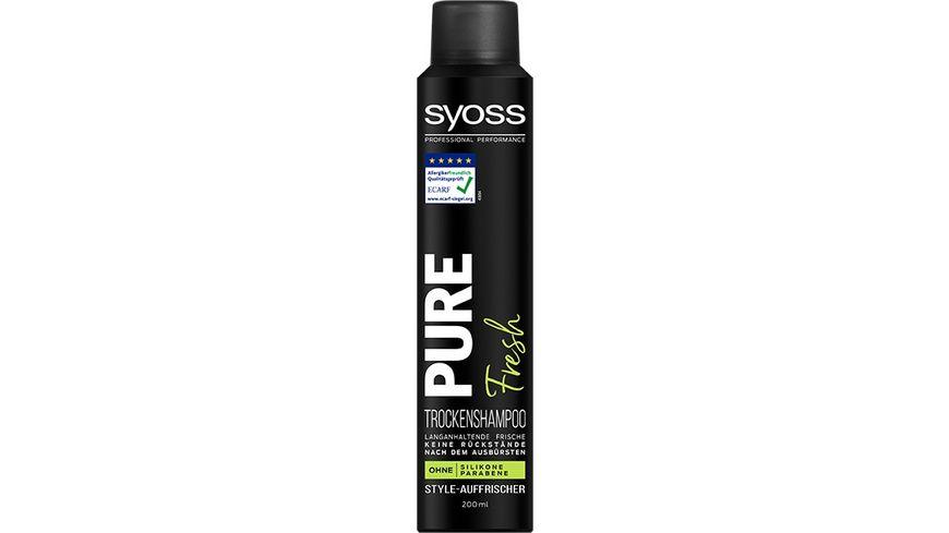 syoss Trocken Shampoo Pure Fresh