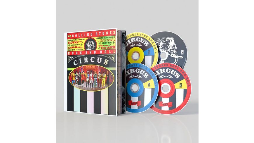 THE ROLLING STONES ROCK AND ROLL CIRCUS LTD DLX
