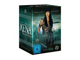 Xena Warrior Princess Die komplette Serie mit 37 DVDs Booklet und Schuber
