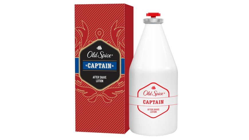 Old Spice After Shave Captain Lotion