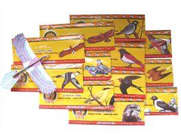 Postler Flieger Styroporvogel Laenge 15 cm 1 Stueck sortiert