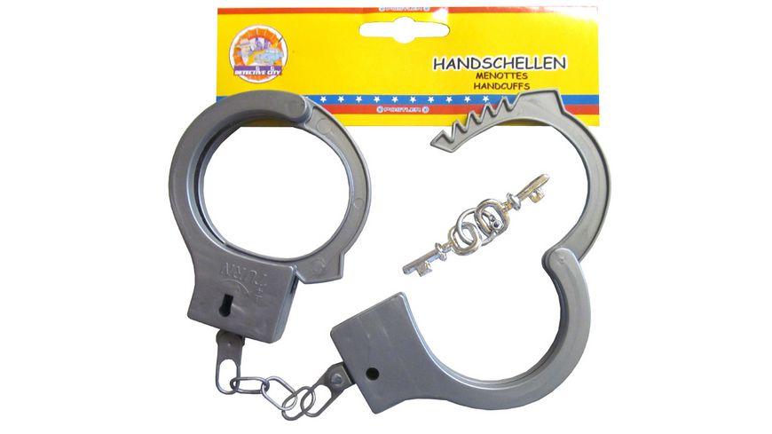 Postler Polizei Handschellen mit 2 Schluesseln