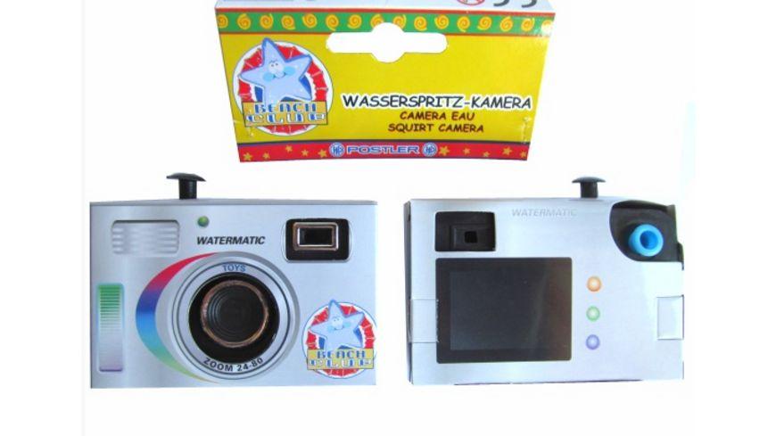 Postler Wasserspritz Kamera