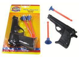 Postler Pfeil Pistole mit 2 Pfeilen