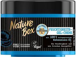 Nature Box Kur Feuchtigkeits Gel Creme Kokosnuss Oel