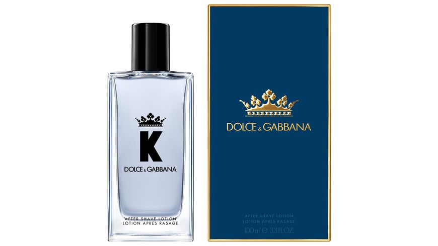 DOLCE GABBANA K by D G After Shave Lotion