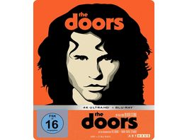 The Doors The Final Cut Limited Steelbook Edition 4K Ultra HD 2 Bonus Blu rays