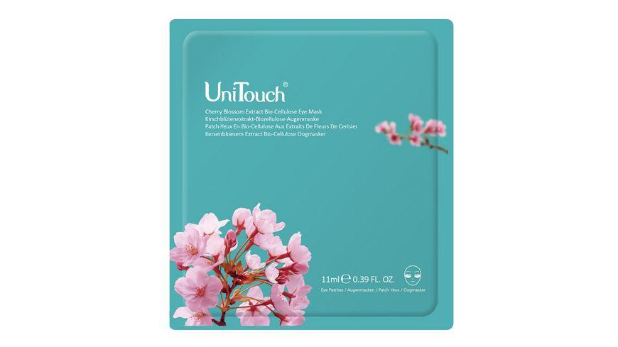DR GRANDEL Uni Touch Kirschbluetenextrakt Biozellulose Augenmaske